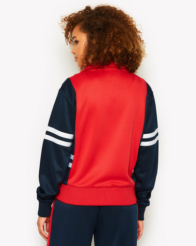 Predazzo Track Top Red