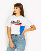 Cerezza Crop T-Shirt White