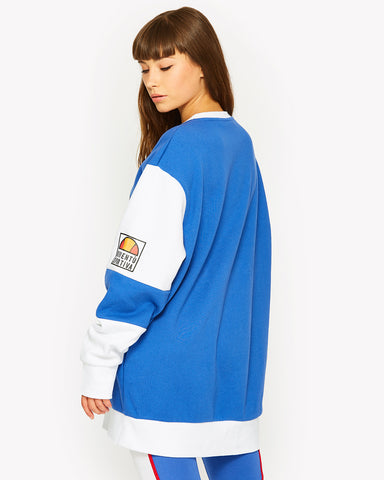 Calice Crew Sweat Blue