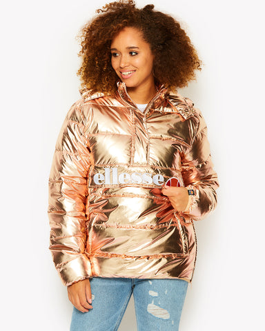 Zinnia Padded Jacket Rose Gold