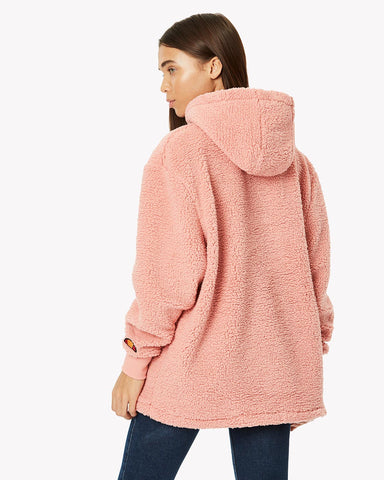 Grattini Fleece Hoody Pink