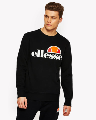 Succiso Crew Sweat Black