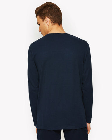 Grazie Long Sleeve T-Shirt Navy