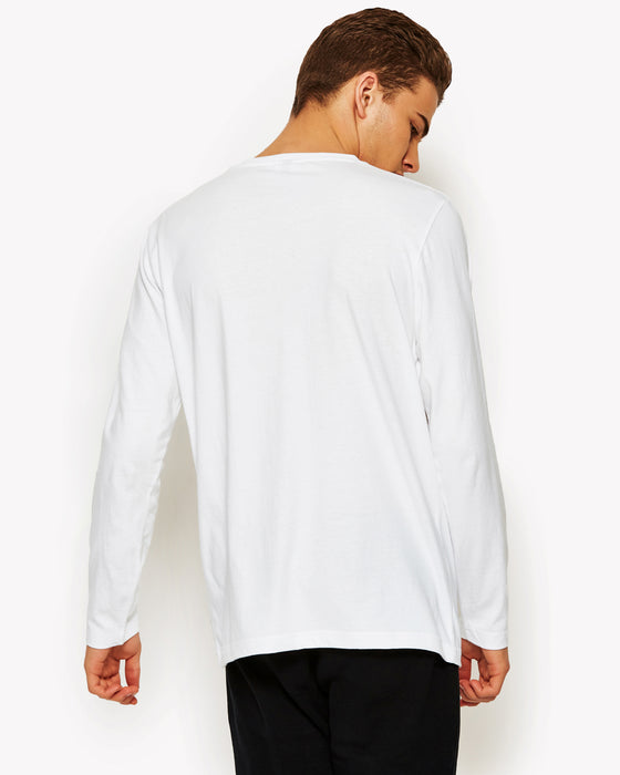 Grazie Long Sleeve T-Shirt White