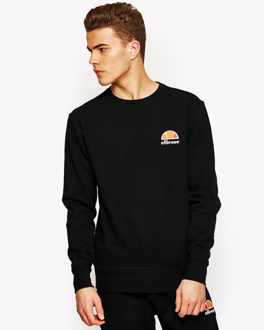 Diveria Crew Sweat Black
