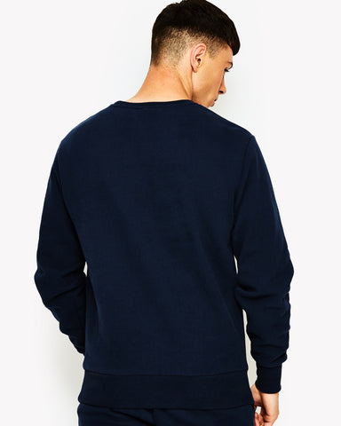 Diveria Crew Sweat Navy