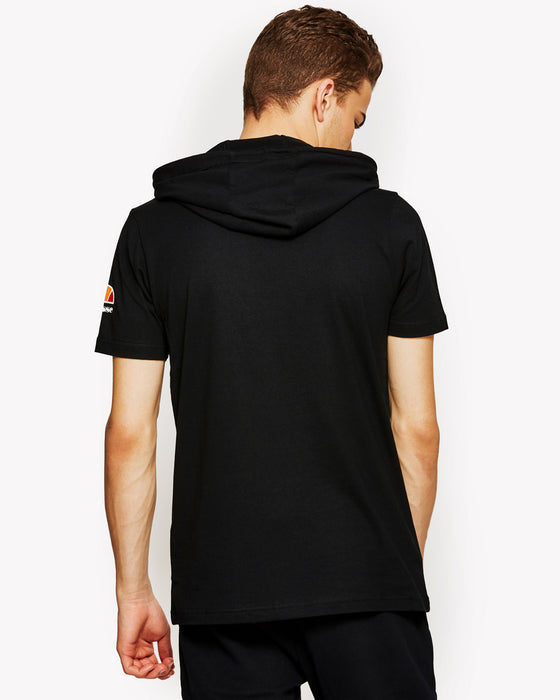Arpeggiare Hooded T-Shirt Black