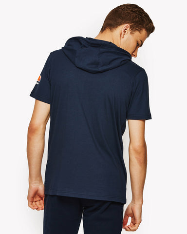 Arpeggiare Hooded T-Shirt Navy