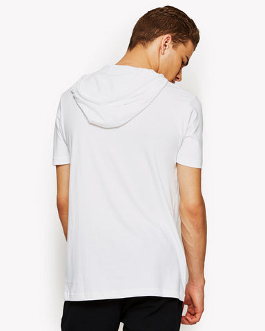 Arpeggiare Hooded T-Shirt White