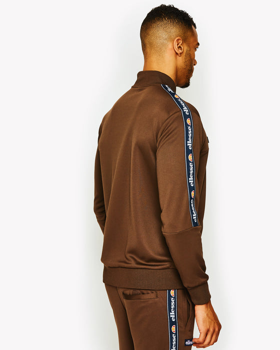 Squad Track Top Brown