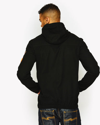 Monte Badge Jacket Black