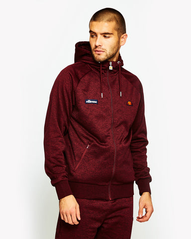 Duilio Track Top Red