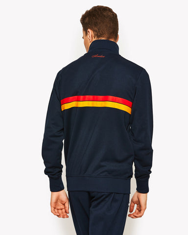 Avidor Track Top Navy