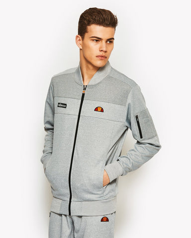 Poggiare Track Top Grey