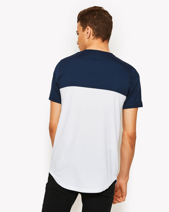 Meda Poly T-Shirt Navy