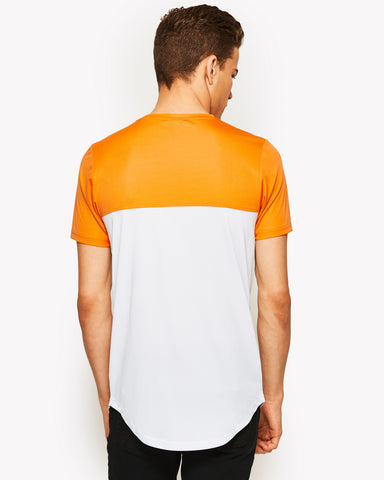 Meda Poly T-Shirt Orange