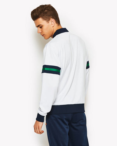 Errani Track Top White