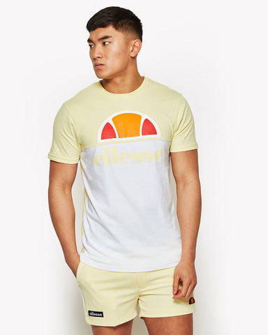 Arbatax T-Shirt White Yellow