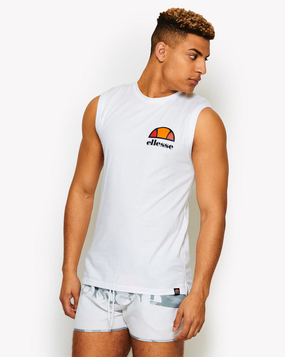 Beached Vest White