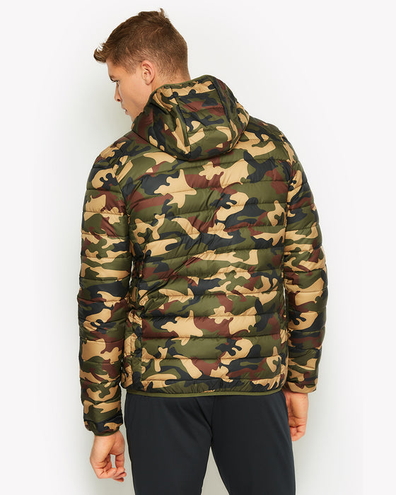 amp; UK Camo Padded Free ellesse Returns Delivery Lombardy Jacket OqBg4Y