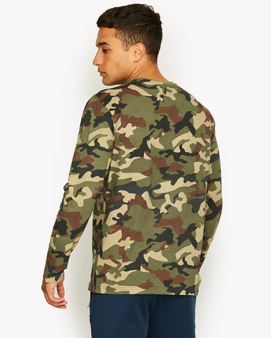 Grazie Long Sleeve T-Shirt Camo