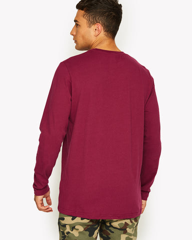 Grazie Long Sleeve T-Shirt Purple