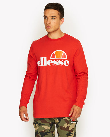 Grazie Long Sleeve T-Shirt Red