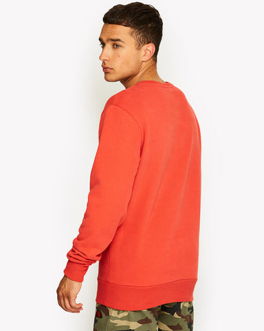 Diveria Crew Sweat Red