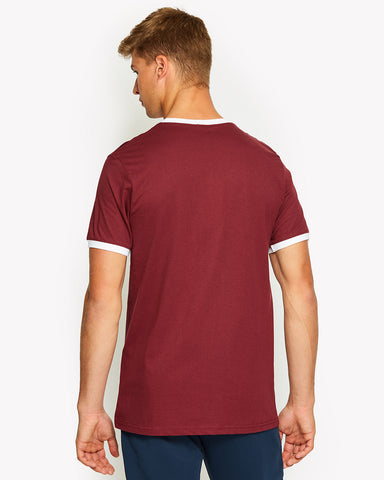 Agrigento T-Shirt Dark Red