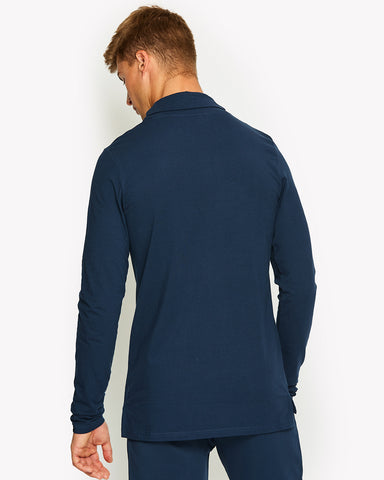 Amica Roll Neck Top Navy