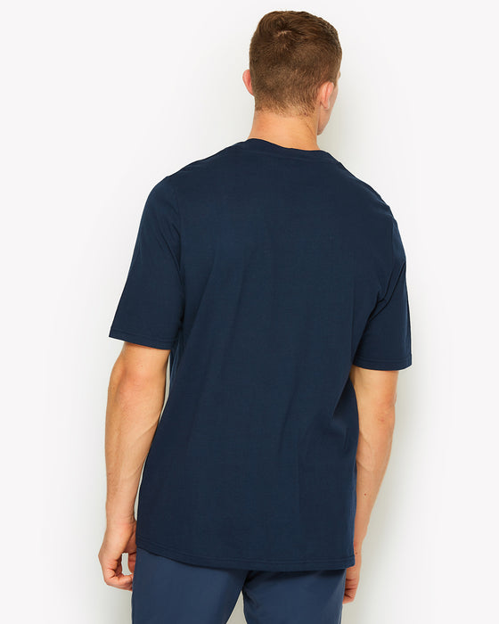 Heroni Oversized T-Shirt Navy