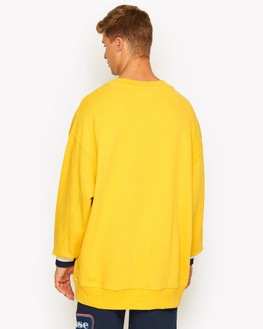 Durono Oversized Crew Sweat Yellow