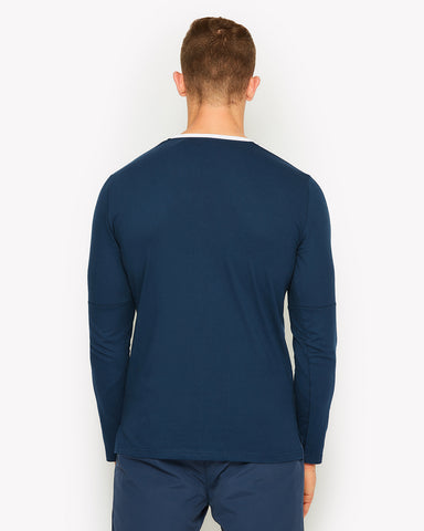 Razzio Long Sleeve T-Shirt Navy