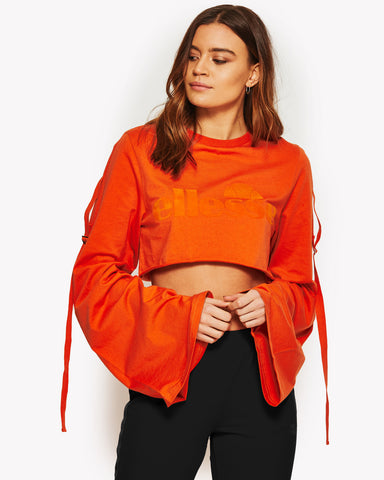 Sedici Crop Top Orange