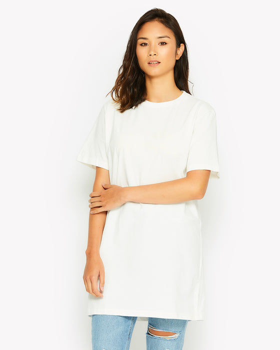 Decimo Long T-Shirt White