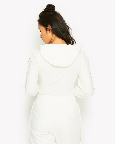 Acotta Hooded Body White