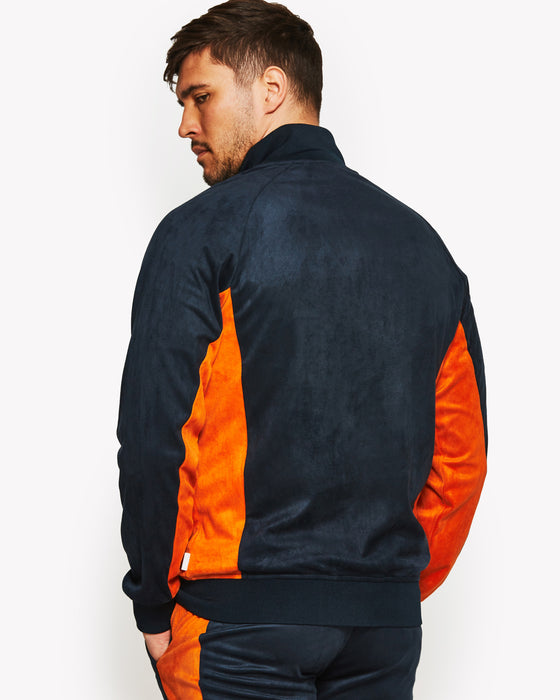 Menzap Track Top Navy
