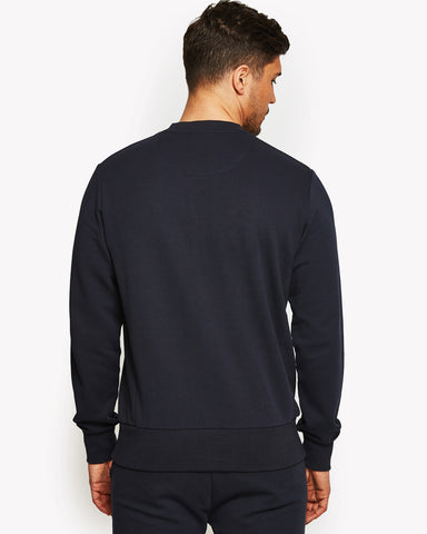 Mennea Crew Sweat Navy