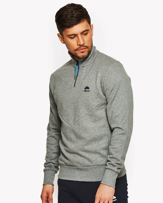 Simeoni 1/2 Zip Sweat Grey