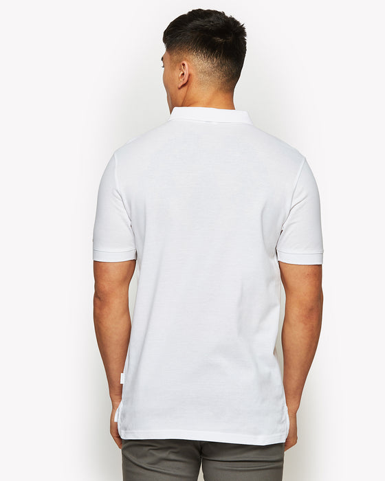 Moncalieri Polo Shirt White