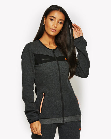 Neith Zip Jacket Black