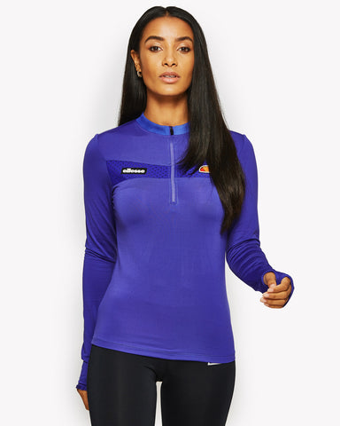 Hestia Long Sleeve T-Shirt Purple