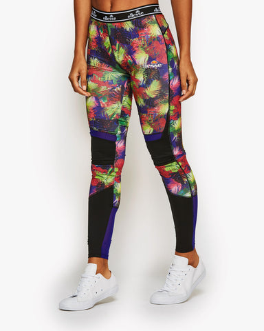 Athena Leggings Jungle Palm Print