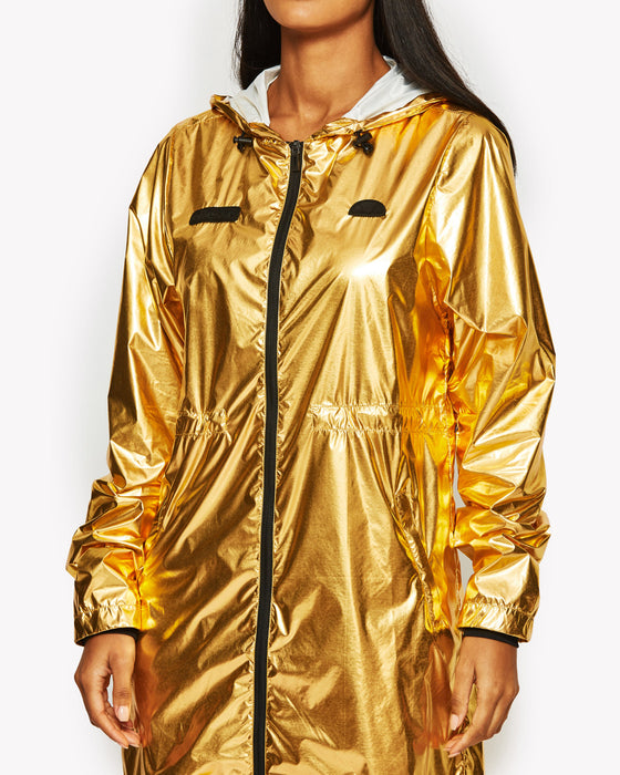Pina Nylon Jacket Gold