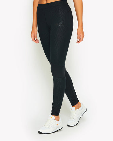 Coluber Legging Black