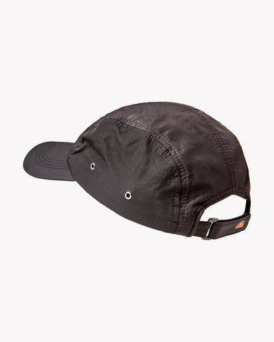 Turra 5 Panel Cap Black