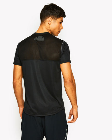 Dynamic Poly T-Shirt Black