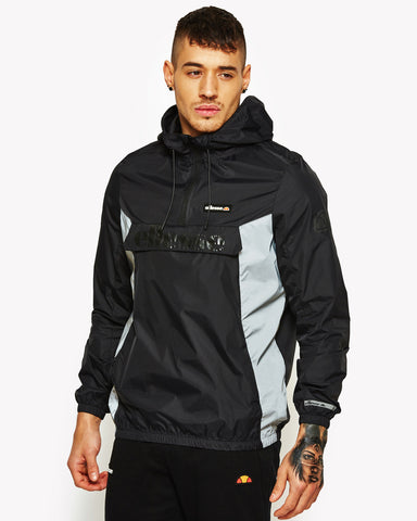 Berto 1/2 Zip Jacket Black