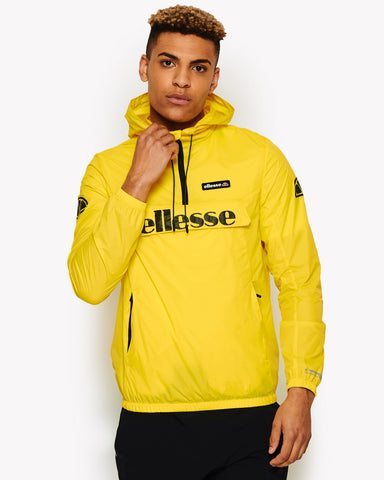 Berto 1/2 Zip Jacket Yellow
