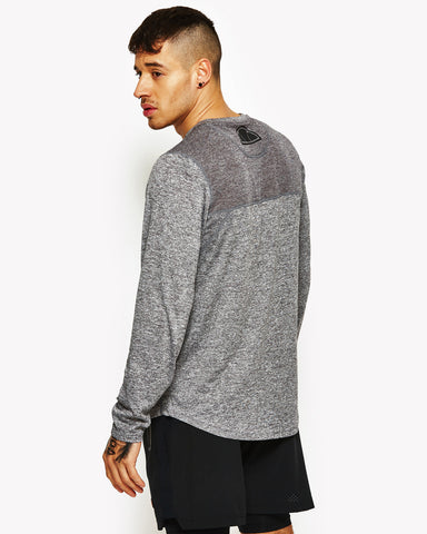 Airoldi Long Sleeve Poly T-Shirt Grey